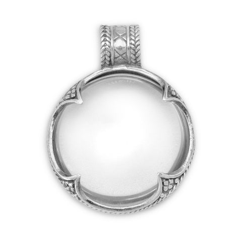 Ornate Glass Pendant