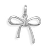 Polished Bow Pendant