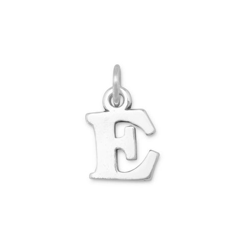 Greek Alphabet Letter Charm - Epsilon