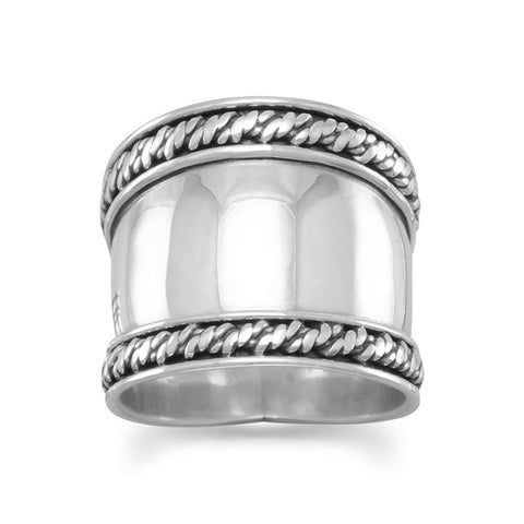 Bali Rope Edge Ring