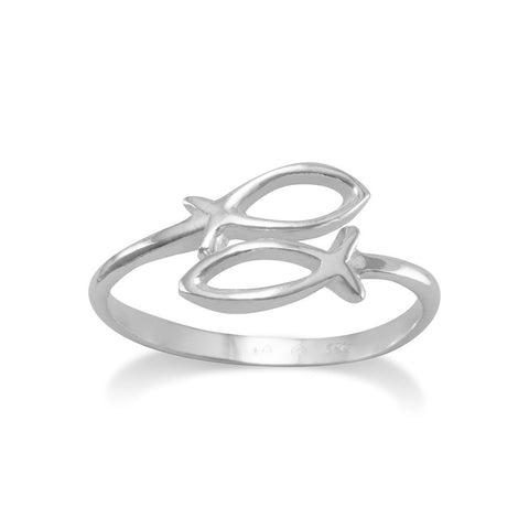 Adjustable Ichthys Ring