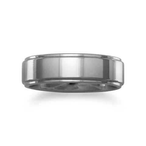 Tungsten Carbide 7mm Men's Ring