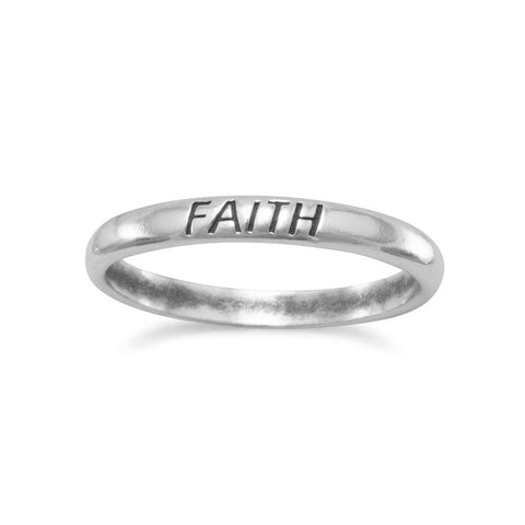 "Oxidized ""Faith"" Band"