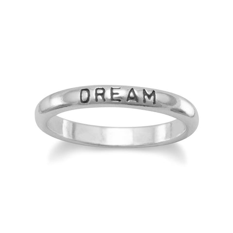 "Oxidized ""Dream"" Ring"