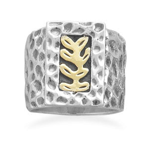 Fern Design Ring