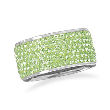 Green Crystal Band