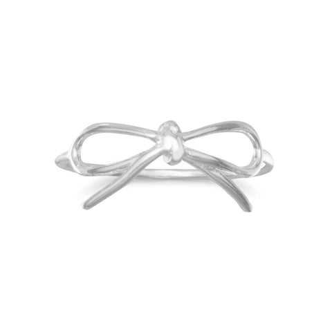 Shiny Bow Ring