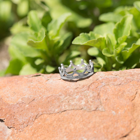 Polished Crown Ring