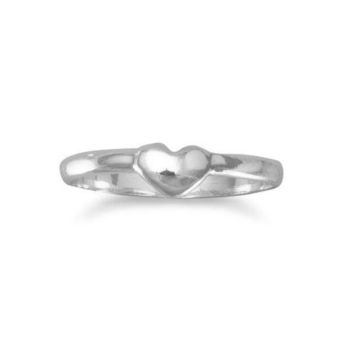 Baby Ring with Heart