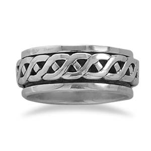 Rope Design Spin Ring