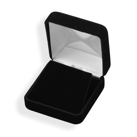 Black Velvet Pendant Box