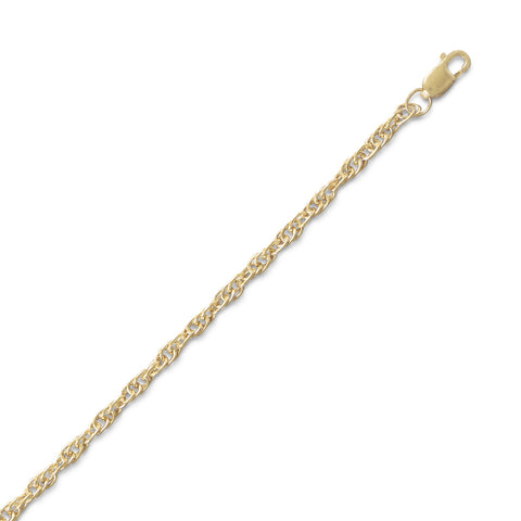 14/20 Gold Filled Rope Chain (2.5mm)
