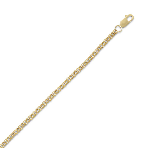 14/20 Gold Filled Rolo Chain (2.6mm)