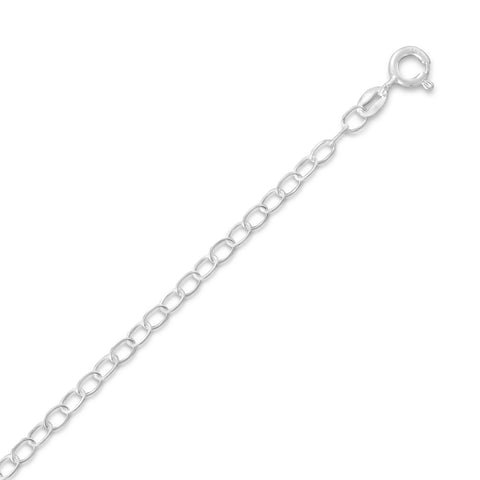 050 Open Cable Chain Necklace (3mm)