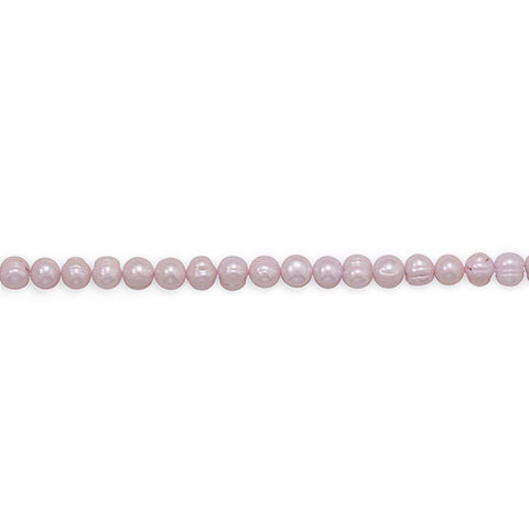 Strand of Pink Cultured Freshwater Potato Pearls