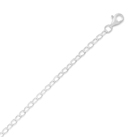 Small Twisted Cable Chain Necklace (2.5mm)