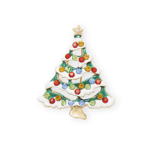 Christmas Tree Fashion Pin