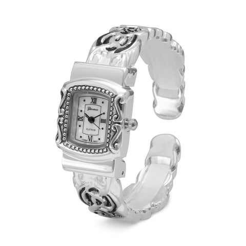 Ornate Fashion Cuff Watch