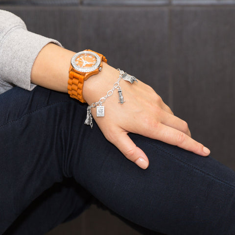 Collegiate Licensed University of Texas Ladies' Fashion Watch