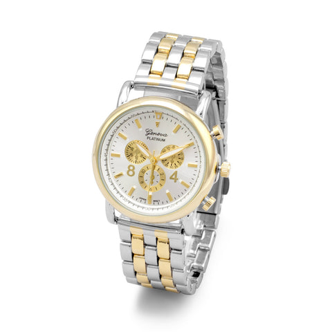 Two Tone Women's Fashion Watch