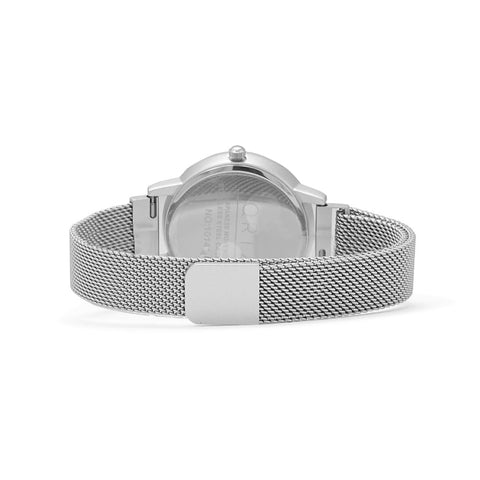 Silver Mesh Magnetic Fashion Watch
