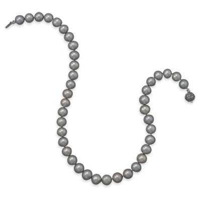 "17"" Sage Cultured Freshwater Pearl Necklace"