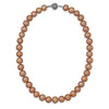 "16.5"" Melon Cultured Freshwater Pearl Necklace"
