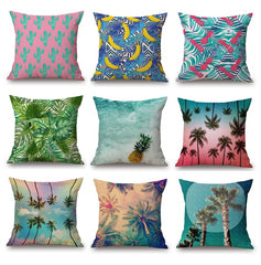 Decorative Pillows | Tropical Print | Home Decor | Moonlight Gypsy