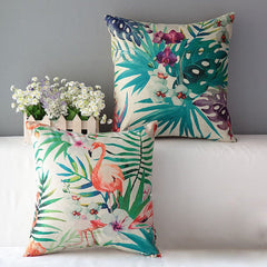 Tropical Print Decorative Pillows | Moonlight Gypsy