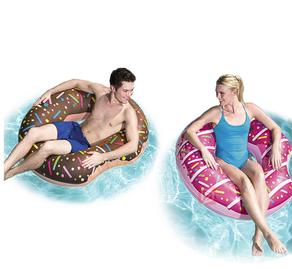 Pink Donut Pool Float-pool float-Moonlight Gypsy