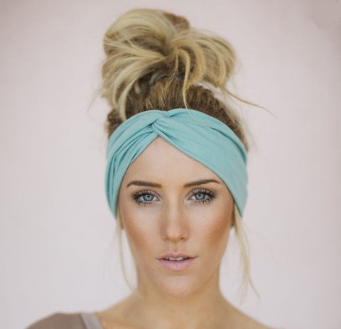 Solid Twist Boho Headband - Moonlight Gypsy