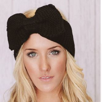 Crochet Bow Knit Headband - Moonlight Gypsy