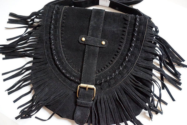 Fringe Crossbody Bag-handbag-Moonlight Gypsy