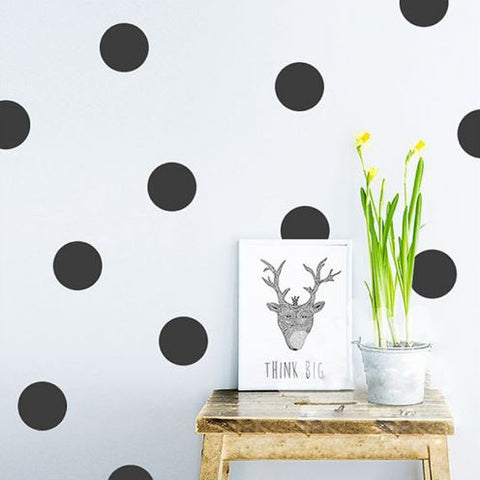 Polka Dot Wall Sticker Set-Wall Sticker-Moonlight Gypsy