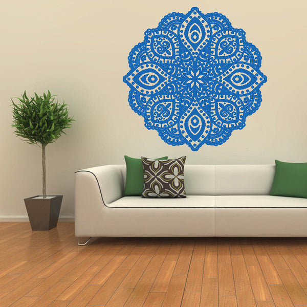 Mandala Flower Wall Sticker-Home Decor-Moonlight Gypsy
