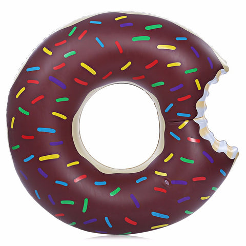 Chocolate Donut Pool Float - Moonlight Gypsy