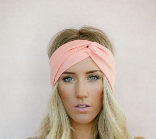 Solid Twist Boho Headband-Hair Accessories-Moonlight Gypsy