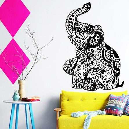 Elephant Wall Sticker-Home Decor-Moonlight Gypsy