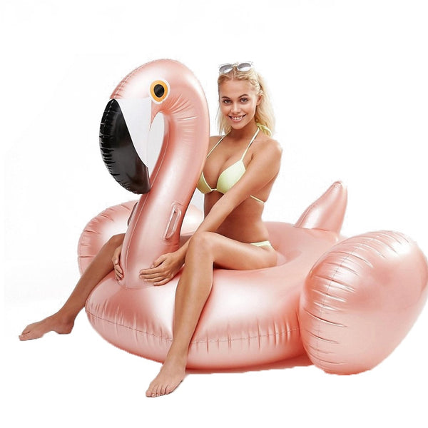 Rose Gold Flamingo Pool Float-pool float-Moonlight Gypsy