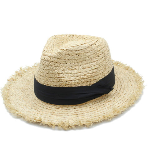 Fringe Straw Hat - Moonlight Gypsy