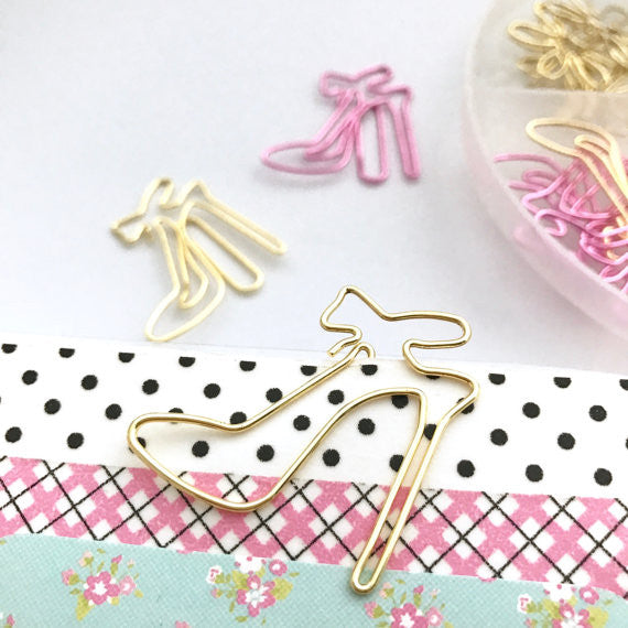 High Heel Paper Clip Set-Stationary-Moonlight Gypsy