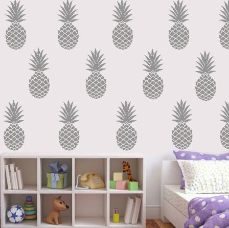 Pineapple Wall Sticker Set-Home Decor-Moonlight Gypsy