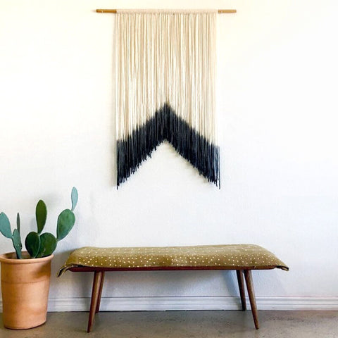 Dip Dye Macrame Wall Hanging - Moonlight Gypsy