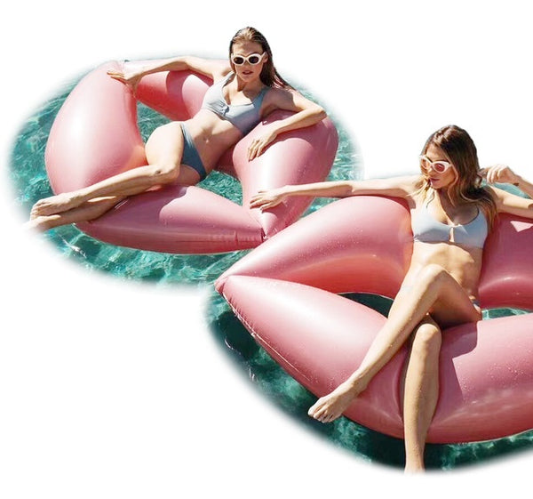 Giant Red Lips Pool Float-pool float-Moonlight Gypsy