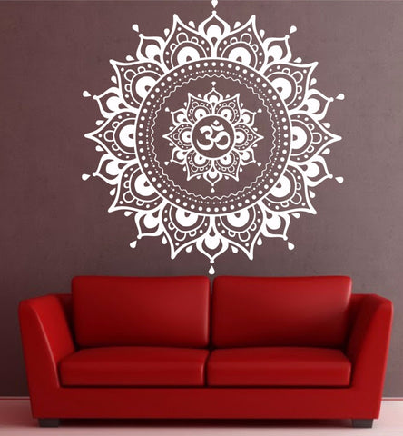Mandala Ohm Wall Sticker-Home Decor-Moonlight Gypsy