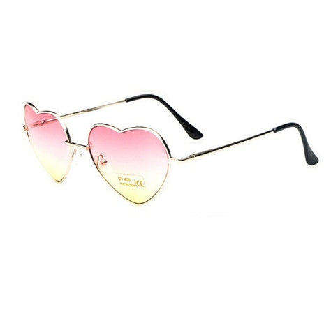 Heart Aviator Sunglasses-Sunglasses-Moonlight Gypsy