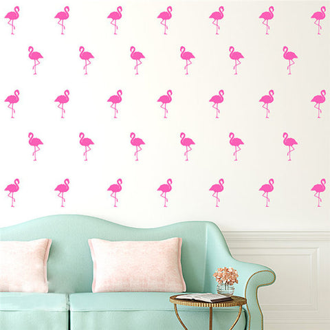 Flamingo Wall Sticker Set-Home Decor-Moonlight Gypsy