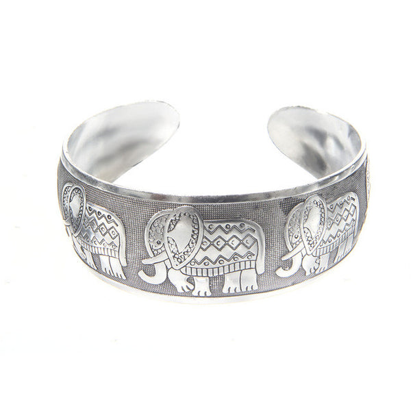 Tibetan Bangle Bracelet - Elephant Tribe-bracelet-Moonlight Gypsy