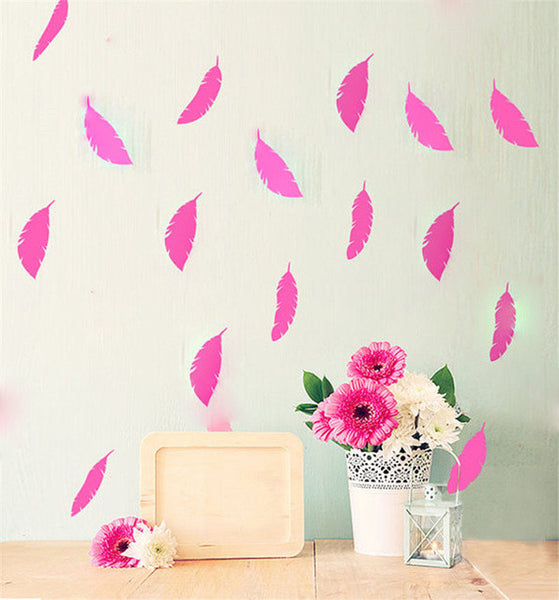 Feather Wall Sticker Set-Home Decor-Moonlight Gypsy