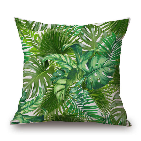 Tropical Bird Print Pillow Cover-Home Decor-Moonlight Gypsy